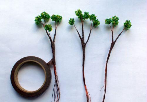Деревья высокие своими руками