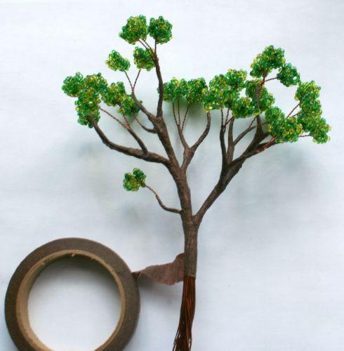 Как сделать большие деревья своими руками