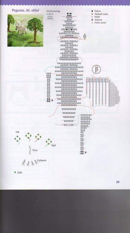схема дракон из бисера - О